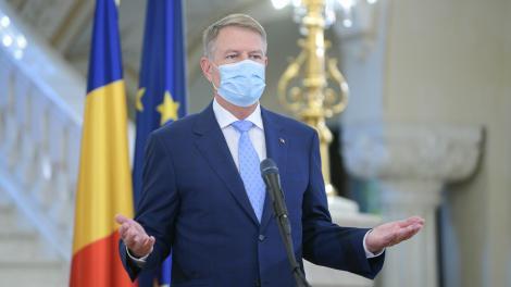 """Klaus Iohannis, noi anunțuri importante pentru români: """"Există risc major ca epidemia să reapară. Au crescut cazurile, nu putem slăbi măsurile"""""""