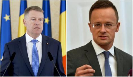 """Klaus Iohannis, atacat de șeful diplomației ungare: """"Instigă la ură!  Preşedintele României să acorde mai mult respect maghiarilor"""""""