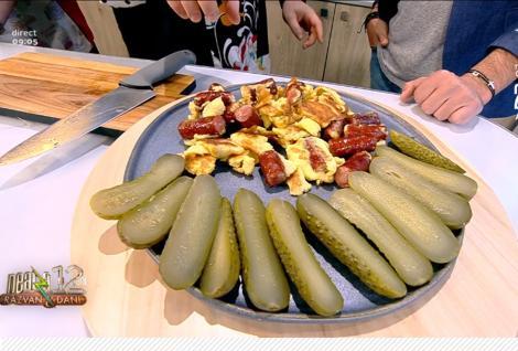 Mare competiție culinară la Neatza cu Răzvan și Dani! Momentul culinar-umoristic în care Cătălin Oprișan prezintă propria rețetă de mic dejun, pentru o singură persoană