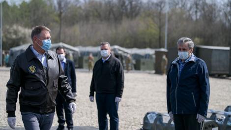 Klaus Iohannis, mesaj pentru forțele de ordine de la frontieră: Fiți vigilenți! Intervenția voastră rapidă și fermă poate salva vieți!