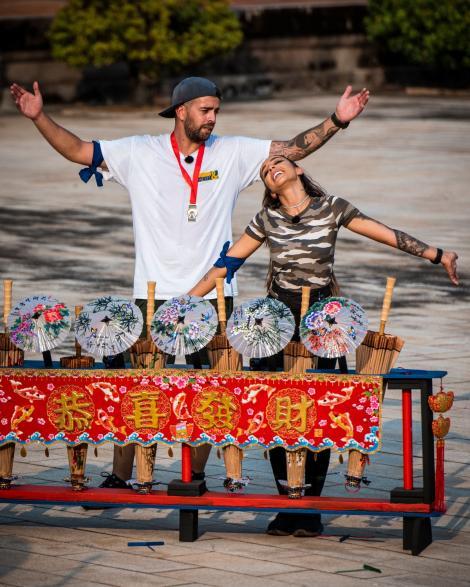 Speak și Ștefania au câștigat prima amuletă din Taiwan! Asia Express- Drumul Comorilor, lider de audienţã