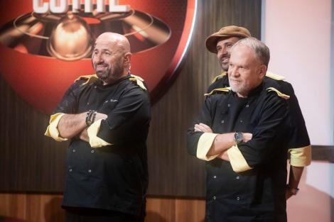 Chef Cãtãlin Scãrlãtescu, marele câştigãtor al ediţiei speciale Chefi la cuţite- Titani la cuţite.  Emisiunea, lider detaşat de audienţã