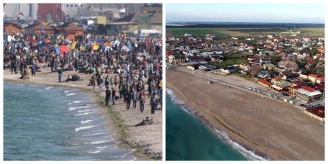 Cum aratau plajele anul trecut de 1 Mai și cum cum sunt acum |Foto