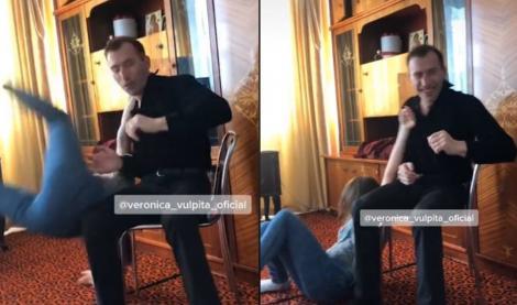 Scene șocante între soții Stegaru! A apărut filmarea pe care Viorel o vrea ștearsă! Ce a putut să-i facă Vulpiței - VIDEO