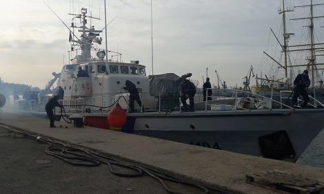 O navă a Poliţiei de Frontieră va supraveghea frontierele Europei din Marea Egee