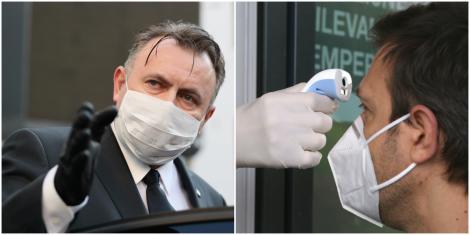 """De ce se ia, de fapt, temperatura oamenilor la intrarea în magazine? Ministrul Nelu Tătaru dă explicații: """"Va ajuta!"""""""