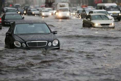 Alertă! Cod portocaliu de inundații în România! Județele aflate în pericol, în următoarele ore!