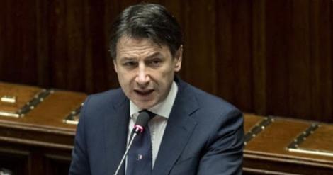 """""""Ceea ce a fost mai rău a trecut"""" în Italia, apreciază premierul Giuseppe Conte în Parlament, la prezentarea unui plan de susţinere a economiei"""