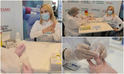 """Gabriela Firea, testată pentru anticorpi COVID-19! A început programul """"Sunt imun la COVID?"""": """"Cetățenii, sunați și invitați la testare"""""""