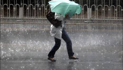 Cod galben de ploi torențiale, vânt puternic și grindină, în următoarele ore. Care sunt zonele afectate