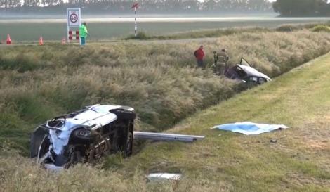 Tragedie! Muncitori români, morți pe o șosea din Olanda! Microbuzul în care se aflau a fost implicat într-un grav accident rutier