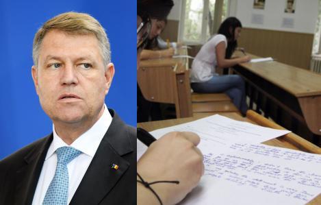 """Iohannis anunță ce se va întâmpla cu  Evaluarea Națională: """"a apărut o problemă"""". Sunt vizați elevii bolnavi"""