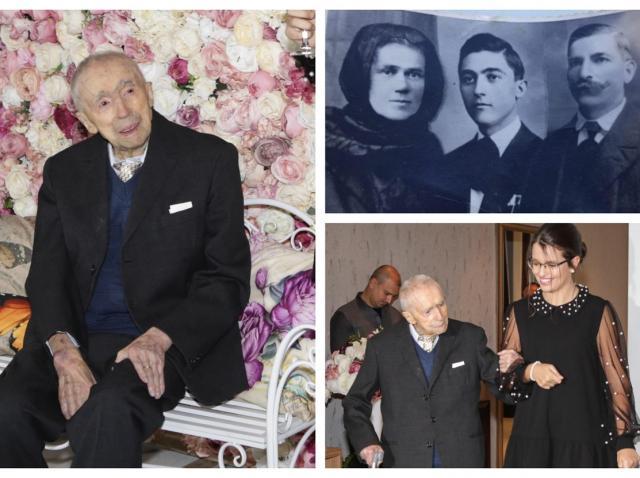 """Un român este cel mai bătrân bărbat din lume! Cine este Dumitru Comănescu. Care sunt secretele longevității lui. """"Am ascultat cum toată lumea cânta imnul, de Marea Unire"""" – FOTO"""