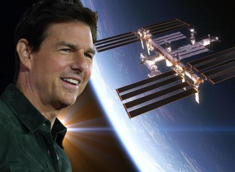 Tom Cruise, actor într-un film realizat în spațiu! Cum se vor face filmările