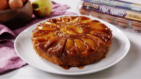 Prăjitură cu mere...la tigaie. O rețetă delicioasă, pe placul mofturoșilor