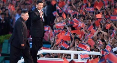 """Coreea de Nord denunţă exerciţii militare sud-coreene la Marea Galbenă, Kim Jong Un salută """"succesele"""" lui Xi Jinping în lupta împotriva epidemiei covid-19"""