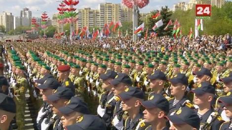 Belarus: Paradă militară de Ziua Victoriei, în plină pandemie de coronavirus
