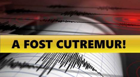 Încă un cutremur în România, în urmă cu puțin timp. Este al treilea seism produs în țară în ultimele 24 de ore