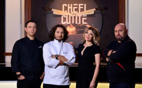 Distracție maximă! Ce se întâmplă în culisele celui mai incendiar cooking show - Chefi la cuţite!   FOTO