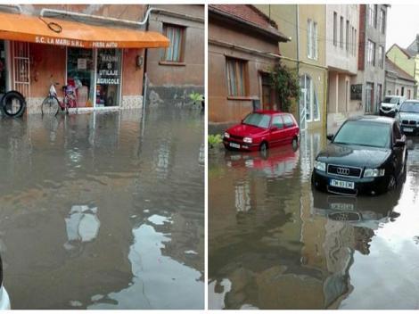 Prăpăd într-un oraș din România, după o furtună violentă care a durat mai puțin de 30 de minute. 33 de județe din țară, în continuare sub cod portocaliu de ploi