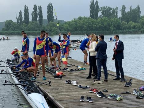 Ionuţ Stroe: Sportivii sunt exemplu public / Încă nu vor fi spectatori la competiţii, acţionăm cu precauţie
