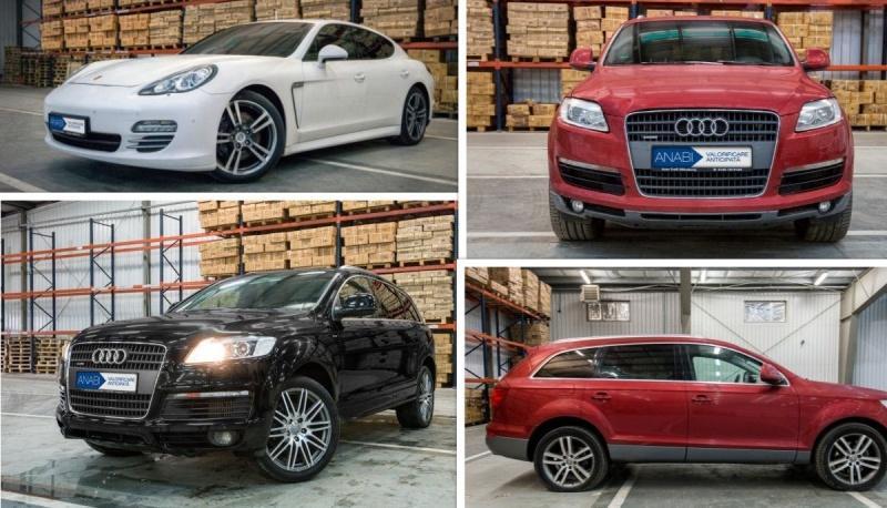 Mașini de lux confiscate, vândute la licitație, la prețuri foarte mici, în România. Un Audi Q7 costă cât un Logan