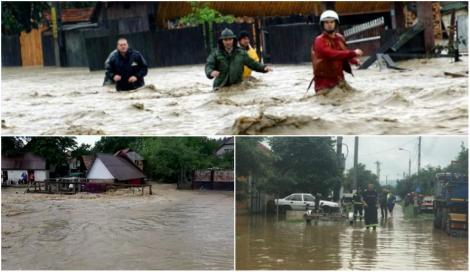 O femeie a fost luată de viitură, în timp ce se chinuia să-și salveze păsările din calea apelor. 90 de localități au fost devastate de inundații