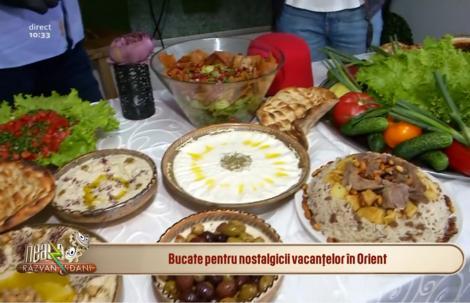 Ce preparate orientale sunt în trend pentru evenimente și mese festive?