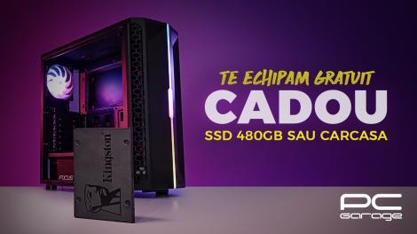PC Garage oferă cadou un SSD de 480GB  sau o carcasă ARGB