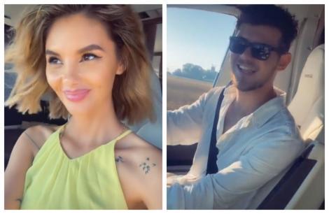 """Ramona Olaru, declarație de dragoste emoționantă pentru Cuza! A filmat tot! """"Iubirea mea!"""" - VIDEO"""