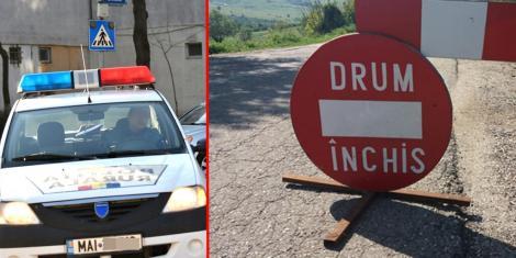 Se circulă greu cu mașina! Ce drumuri sunt blocate în țară din cauza condițiilor meteorologice și pe unde se poate circula