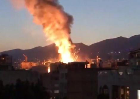 Explozie provocată de o scurgere de gaze la o clinică medicală din Teheran, soldată cu 13 morţi şi şase răniţi
