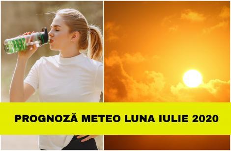 Prognoza meteo pentru luna IULIE 2020. Val de căldură african peste România. Temperaturile vor urca până la 37 de grade celsius