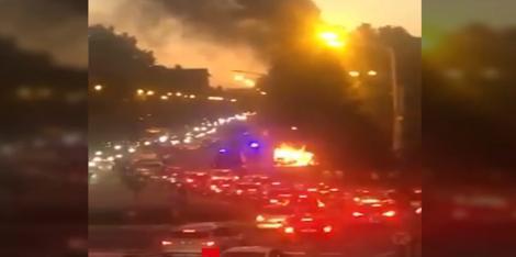 """Pericol de explozie, vineri seara, în Mamaia! Sute de oameni au fost în pericol: """"S-au auzit câteva bufnituri!"""" - VIDEO"""