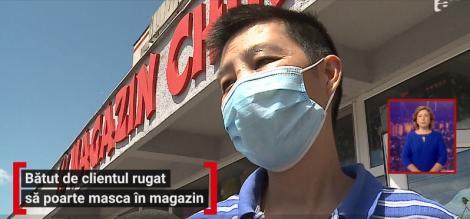 Un chinez a fost snopit în bătaie de un român pentru că l-a rugat să îşi pună masca. Imagini revoltătoare în Mureș