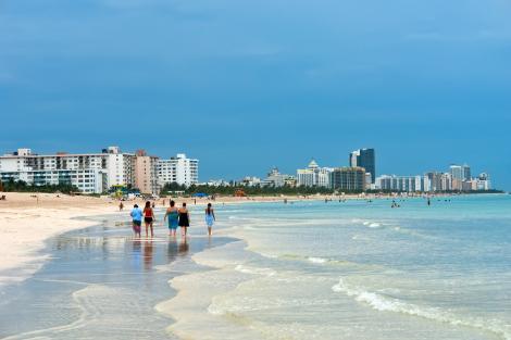Plajele din Miami vor fi închise din cauza creșterii cazurilor de coronavirus. Autoritățile anunță amenzi drastice