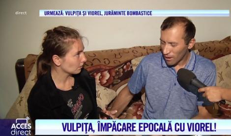 """Minune! Rugăciunile şi lacrimile lui Viorel au adus-o pe Vulpiţa înapoi la Bucureşti: """"Îmi voiau răul. Căutau să mă ia"""""""