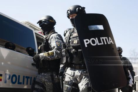 Percheziţii în Bucureşti, Ilfov şi Teleorman, într-un dosar de tâlhărie şi şantaj