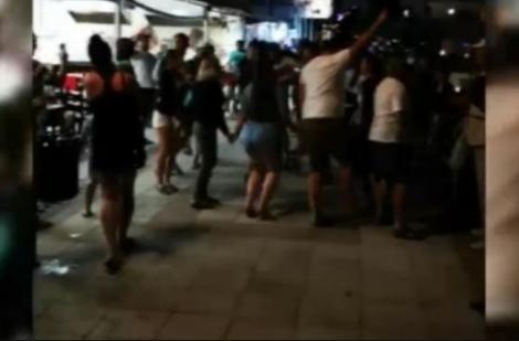 Horă cu zeci de români, în Eforie Nord! Ce s-a întâmplat, la câteva ore după distracție | VIDEO