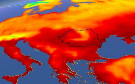 România arde la 40 de grade! ANM, cod galben de caniculă, inclusiv în Bucureşti. Care sunt județele vizate