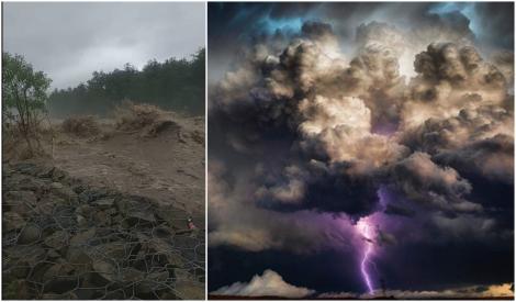 Dezastru în România! Inundațiile au făcut ravagii în Vestul ţării. Mai multe judeţe au fost sub avertizare de vreme rea