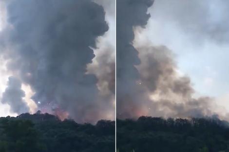 """Doi morți și cel puțin 73 de răniți, în urma unei explozii puternice la o fabrică de artificii. Oamenii au crezut că e cutremur: """"Suflul s-a resimțit pe o rază de 50 de kilometri!"""""""