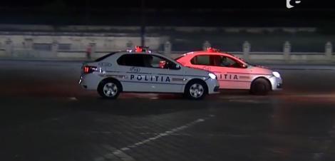 Șef din Poliția Capitalei, fugărit de subalterni pe străzile din București! Bărbatul a fost prins pe un gard al Parcului Carol