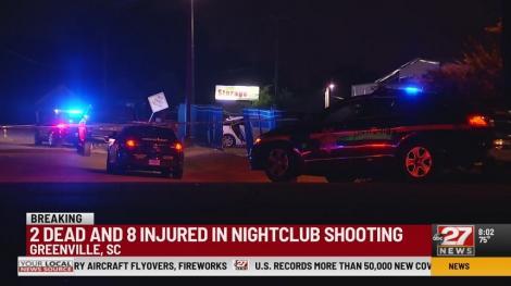 Doi morţi şi opt răniţi în urma unor împuşcături într-un club de noapte din Carolina de Sud