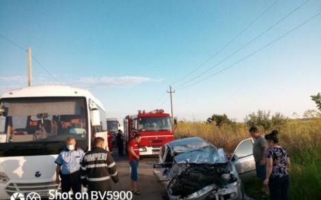 Un mort și șase răniți, în urma unui accident grav. Șoferul care și-a pierdut viața avea doar 20 de ani