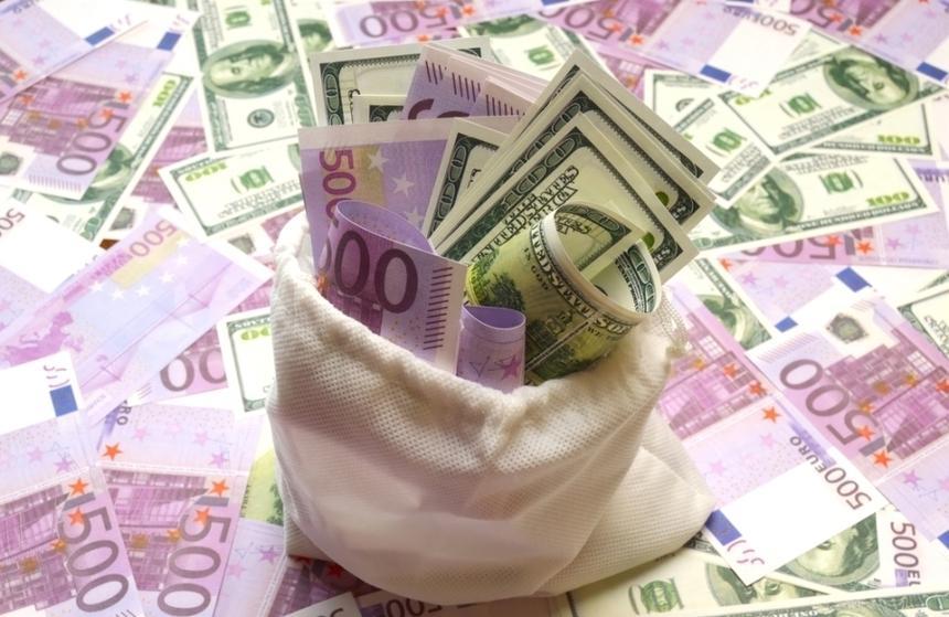 Leul a scăzut marţi la 4,8397 unităţi pentru un euro