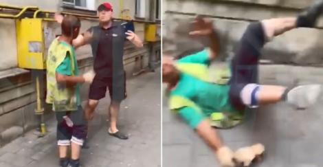 Un profesor universitar a bătut, fără milă, un muncitor, din cauza unui motiv halucinant!    Video