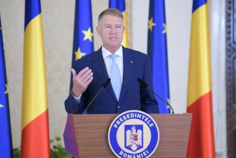 Iohannis: Provocarea pentru autorităţile locale este să găsească soluţii pentru ca elevii să meargă la şcoală în condiţii de siguranţă