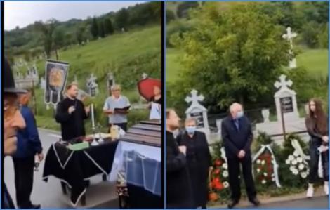 """Scandal uriaș la o înmormântare. Preotul a avut o criză de nervi din cauza banilor: """"Nu încep slujba de până când familia nu-şi cere iertare!"""""""
