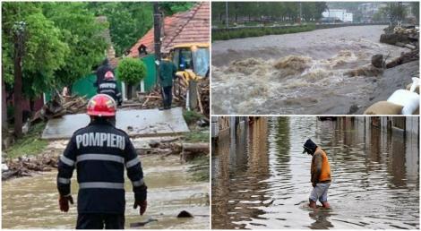 Vremea se schimbă radical. Pericol de inundații, în mai multe localități, în următoarele ore. Autoritățile, în alertă